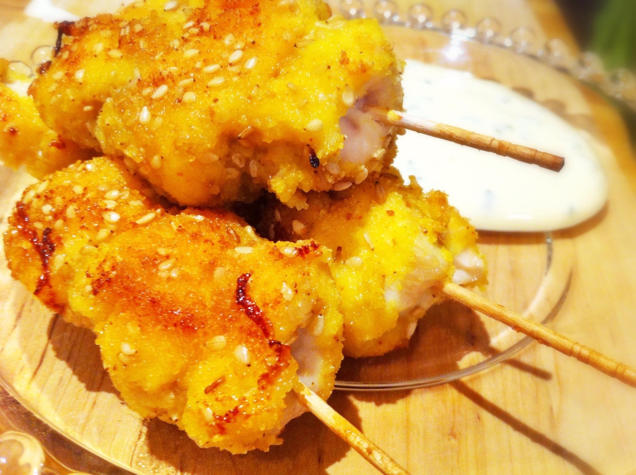 stick di pollo alla curcuma | già... in cucina - Cose Sfiziose Da Cucinare